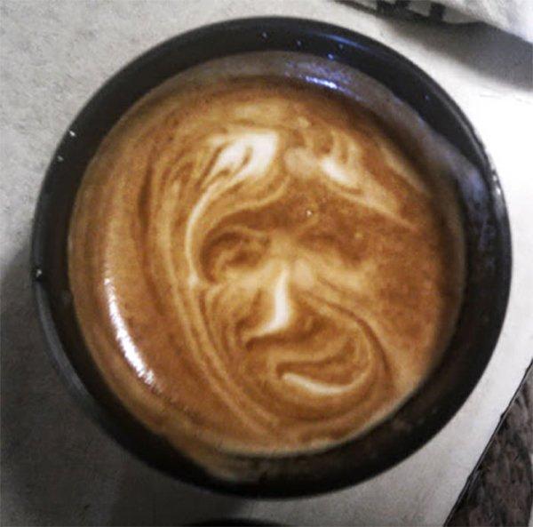 Accidental Coffee Art