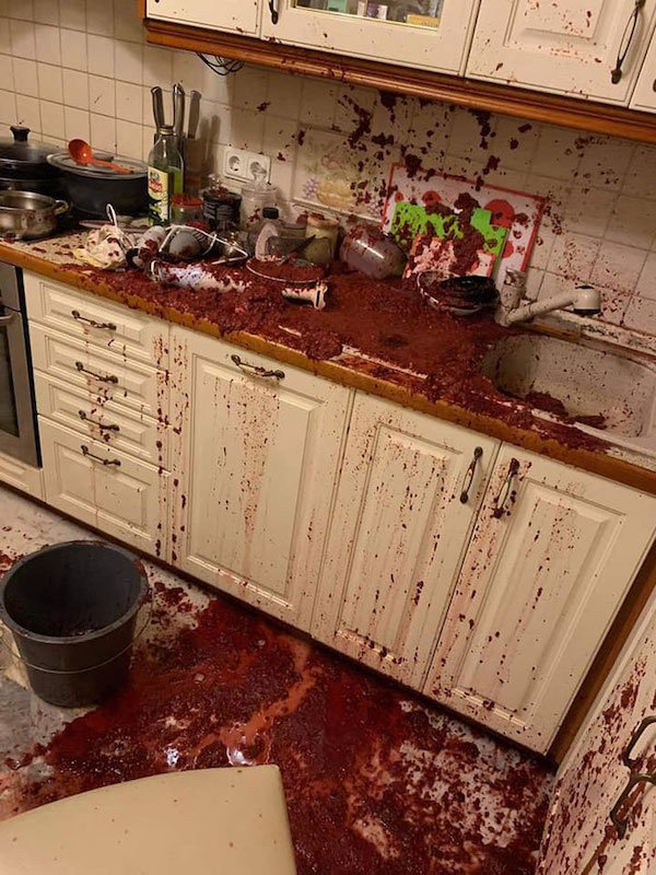 Cooking Went Wrong