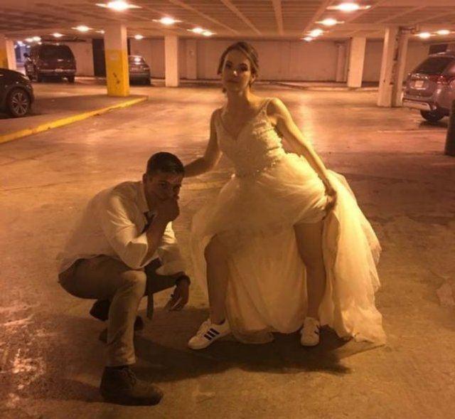 These People Saved Money On Their Wedding Days