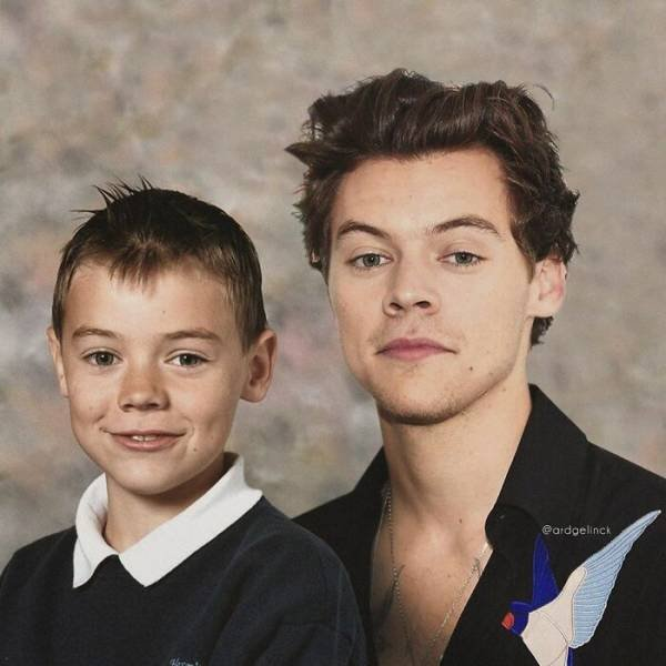 Celebrities And Their Younger Selves