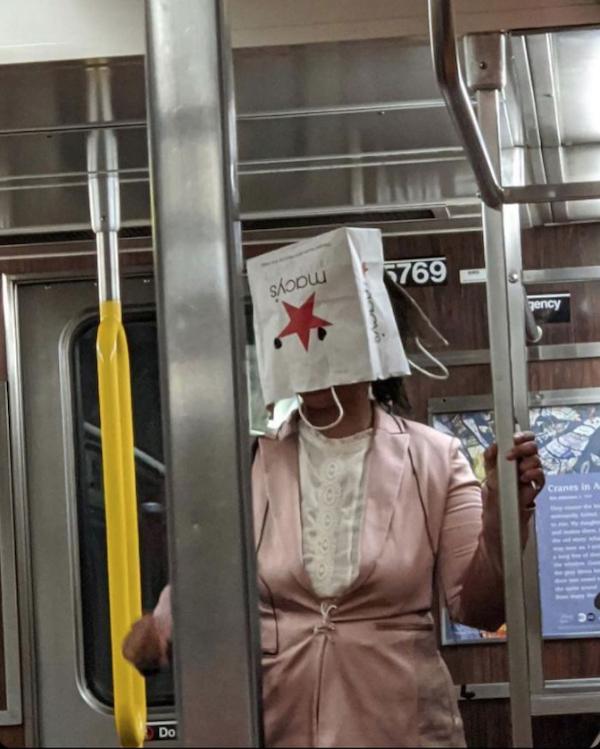 Weird Subway Passengers, part 3