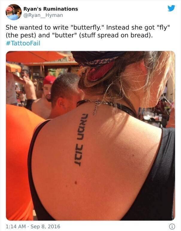 Foreign Language Tattoos Fails