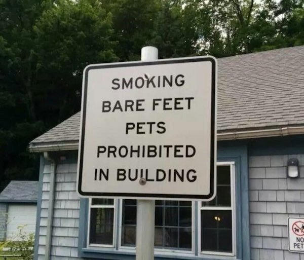 Something's Wrong With These Signs