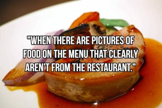 Restaurant Red Flags