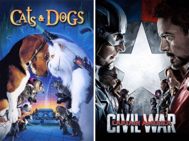 Movie Posters That Look Almost The Same