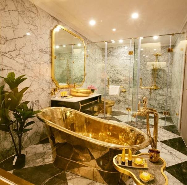 Gold-Plated Hotel In Vietnam