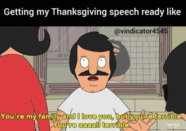 Thanksgiving Memes, part 2
