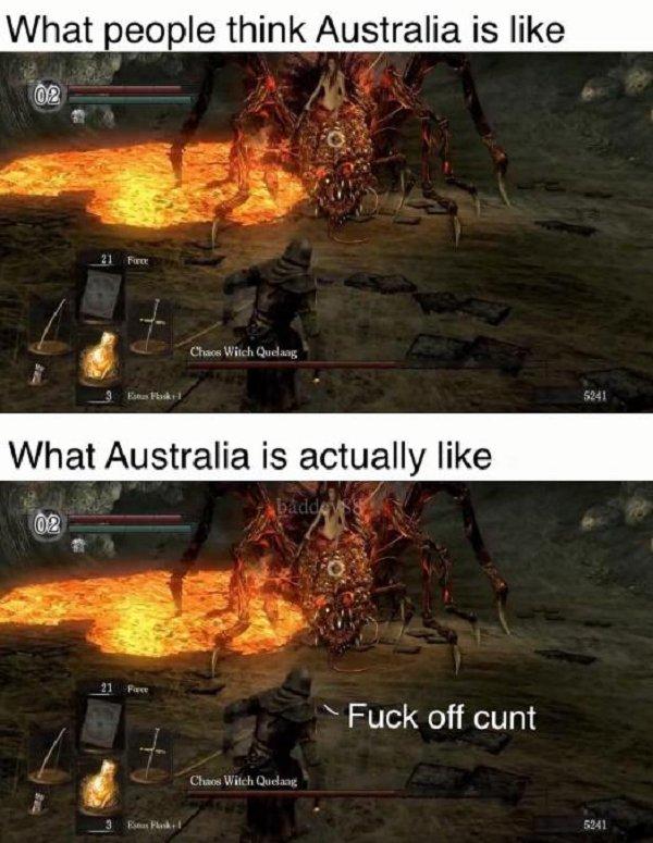 It May Happen Only In Australia
