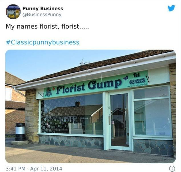Weird Business Names