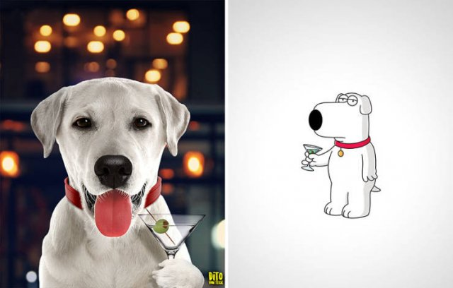 Cartoon Characters Were Reimagined As A Real Creatures