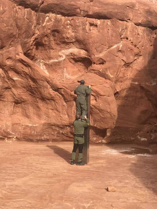 A Huge Metal Monolith Was Discovered In Utah Desert