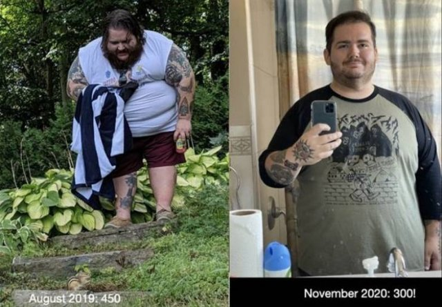 These People Dramatically Changed Their Lives
