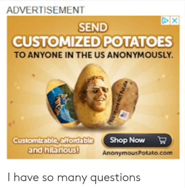 Weird Ads, part 3