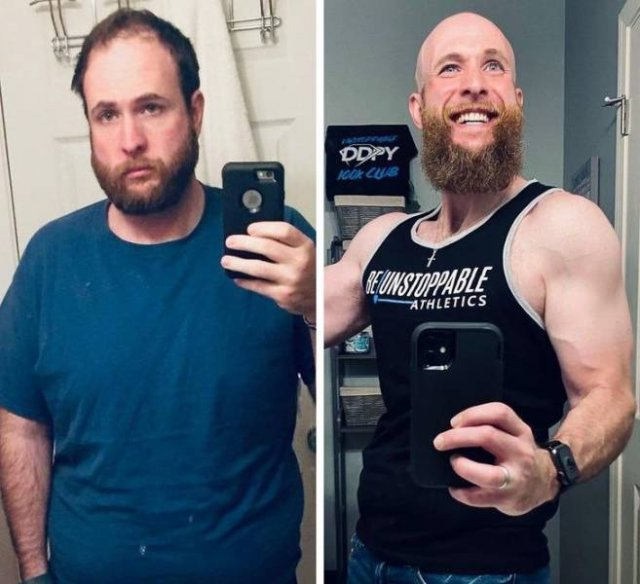 People Show Off Their Transformations, part 2