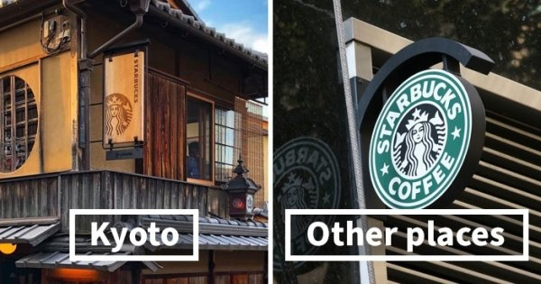 How Famous Brand Logos Look Like In Kyoto