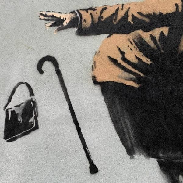 New Covid-Themed Artworks Of Banksy