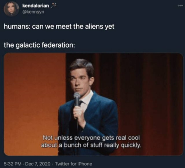 Internet Reaction To 'The Jerusalem Post' Article About Aliens Existence