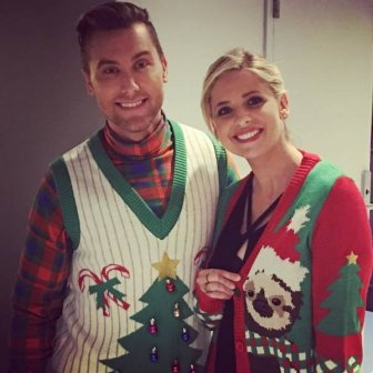 Celebrities Wearing 'Ugly' Christmas Sweaters