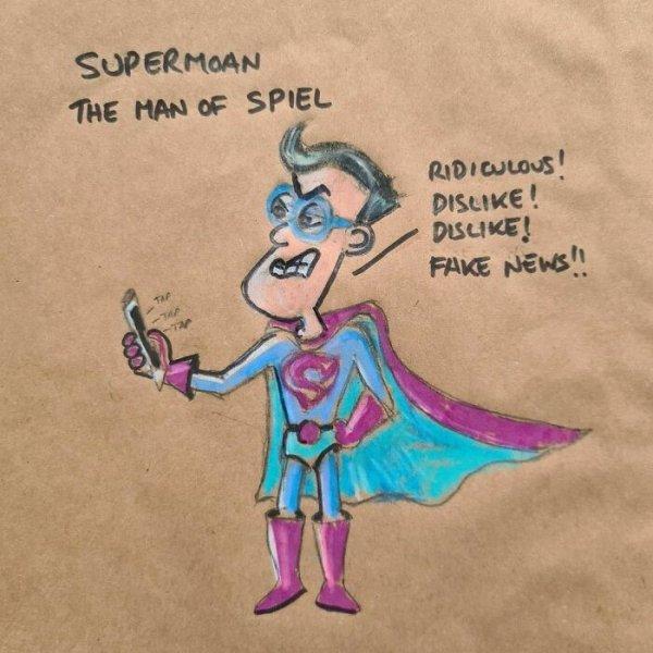 Lunch Bag Cartoons