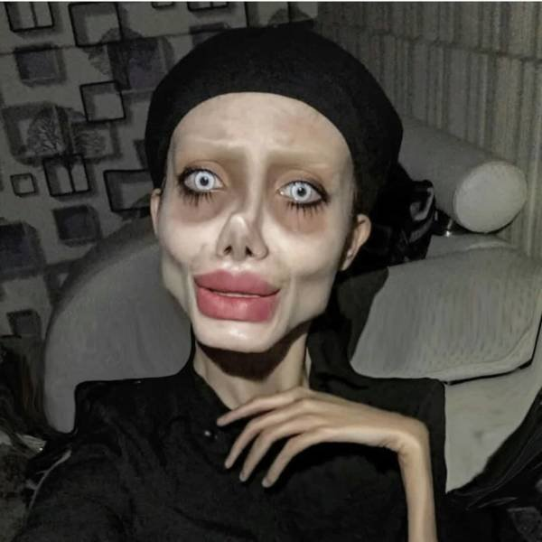 Iranian 'Zombie Angelina Jolie' Got Ten Years In Prison