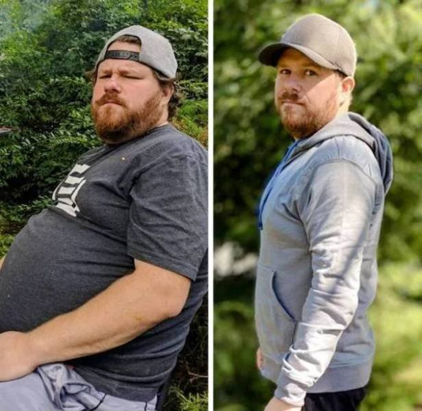 People Show Off Their Transformations, part 3