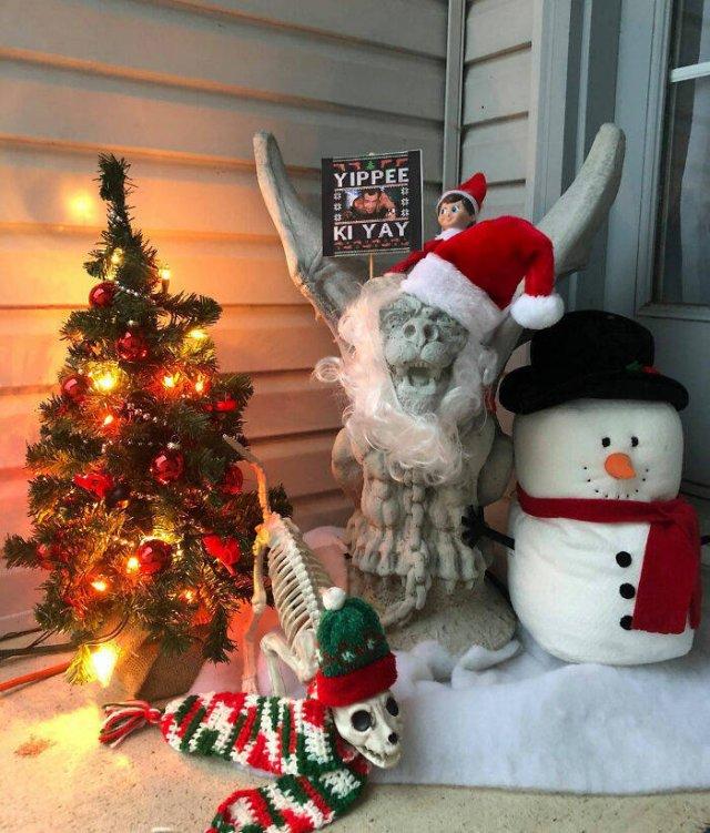 Frank The Christmas Gargoyle