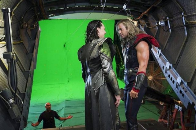 Popular Movies: Behind The Scenes Photos