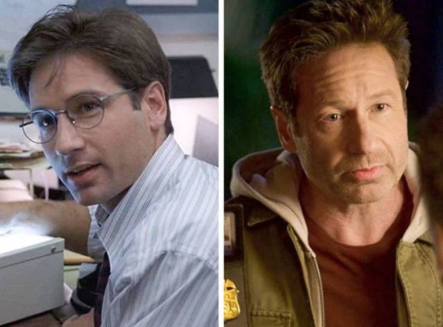 How Famous TV Series Characters Look In Their First And Last Episodes