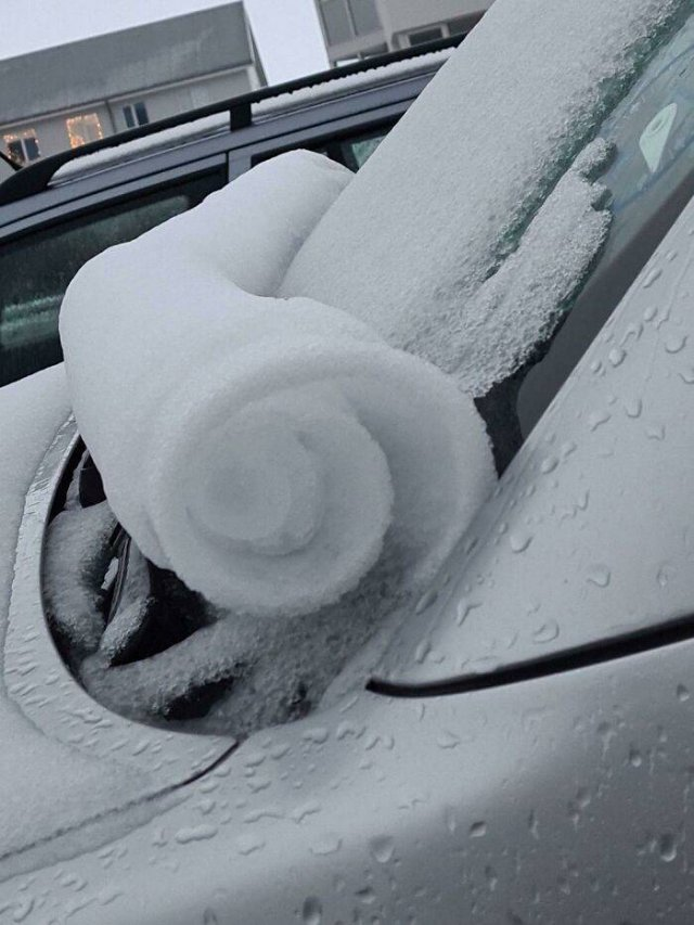 Amazing Ice And Snow Pictures