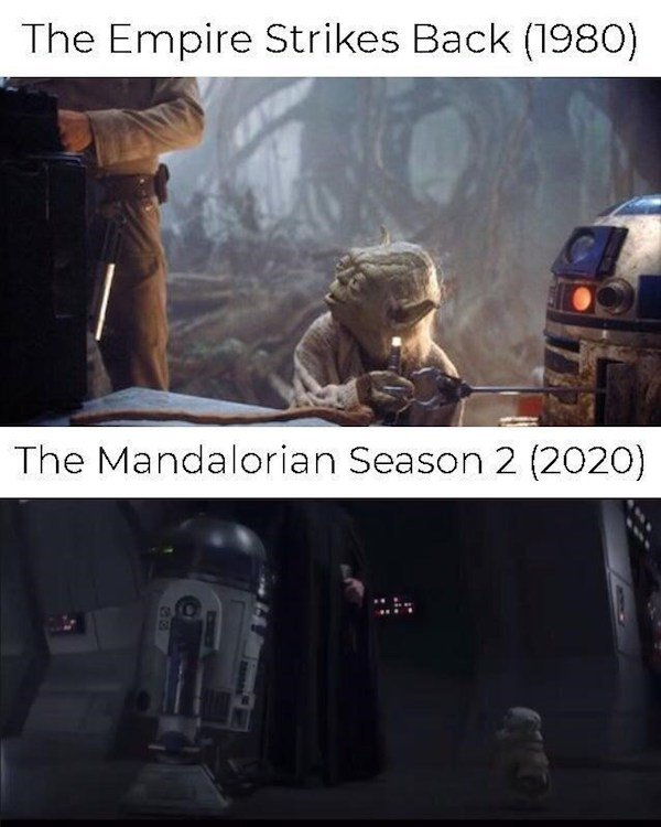 'Mandalorian' Series Memes