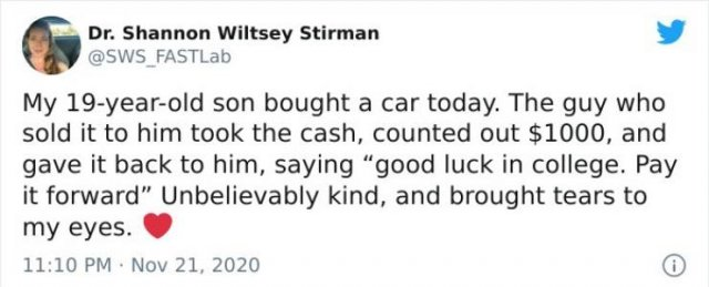 Wholesome Stories, part 34