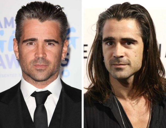 Celebrity Men With Long Hair