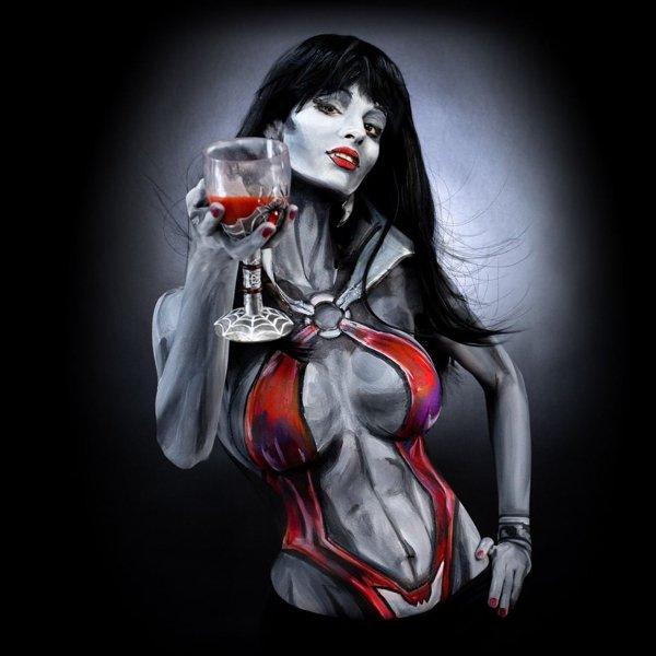 Fantastic Body Painting