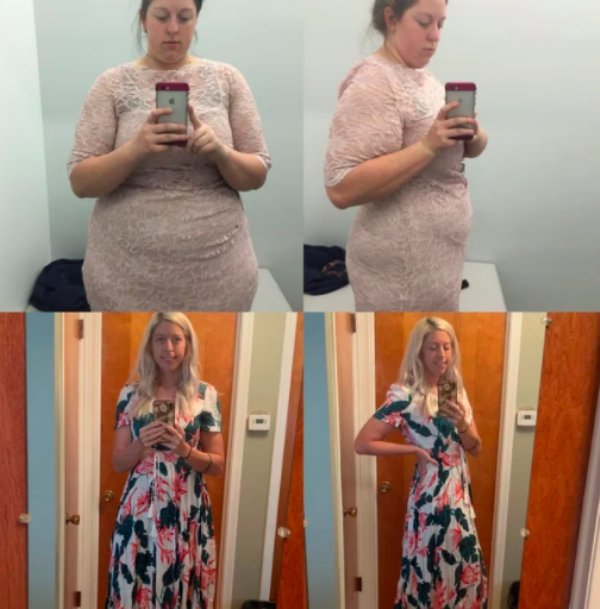 Women Show Off Their Transformations, part 4