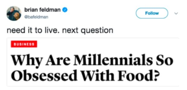Millennials Memes And Tweets