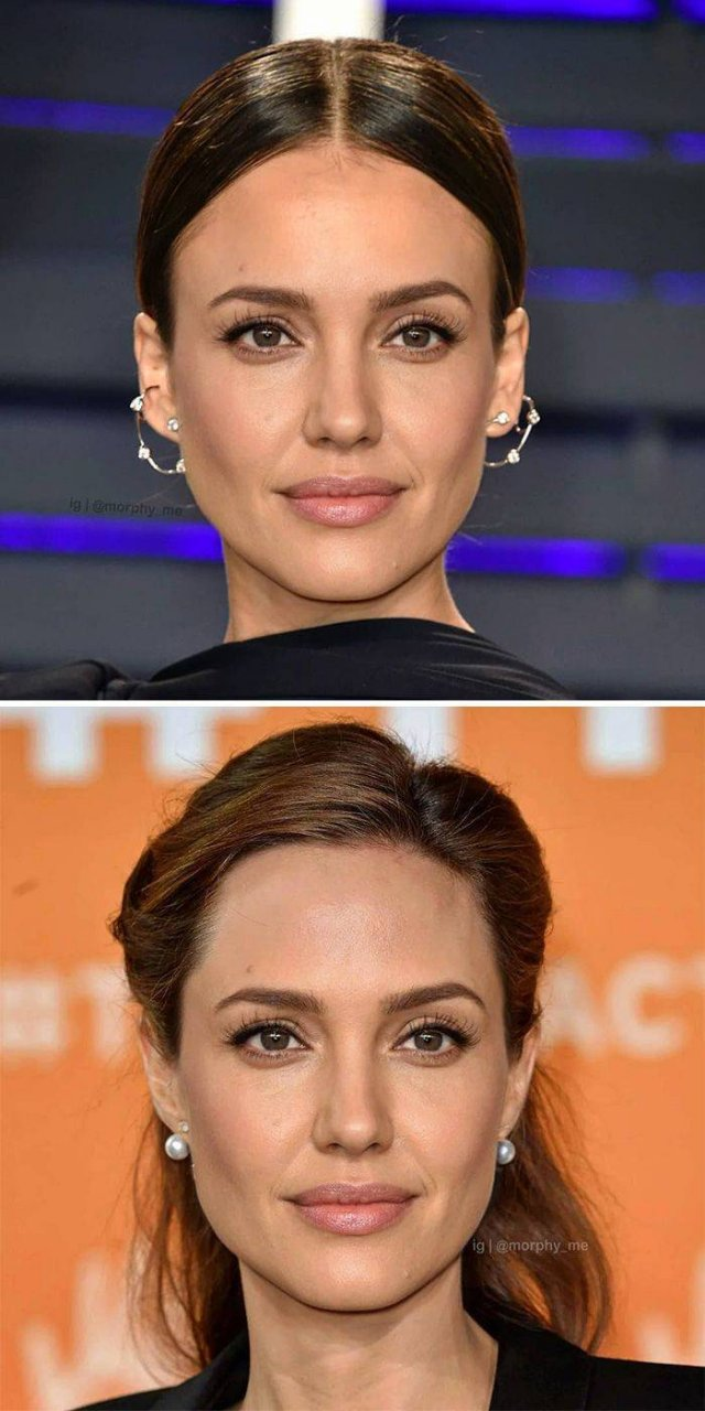 Mixed Celebrity Faces
