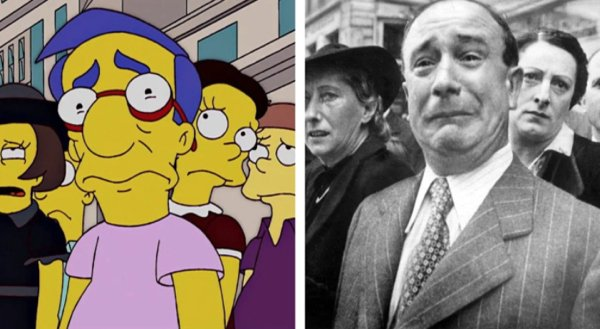 Iconic Photos Recreated By 'The Simpsons'
