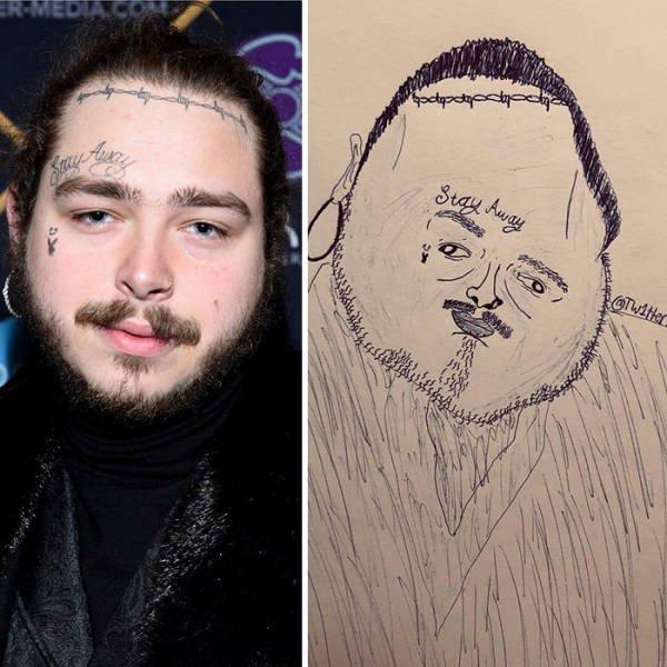 Celebrity Portraits By Ballpoint Papi