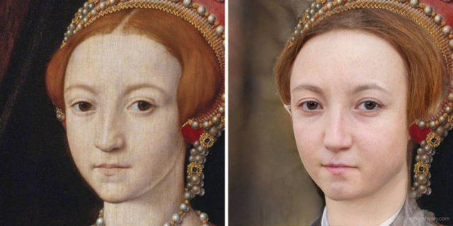 Historical Figures Paintings Turned To Realistic Images