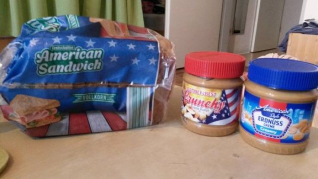 American Food Around The World