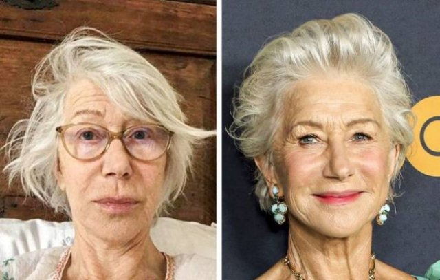 Celebrities Over 60: On A Red Carpet And In Everyday Life