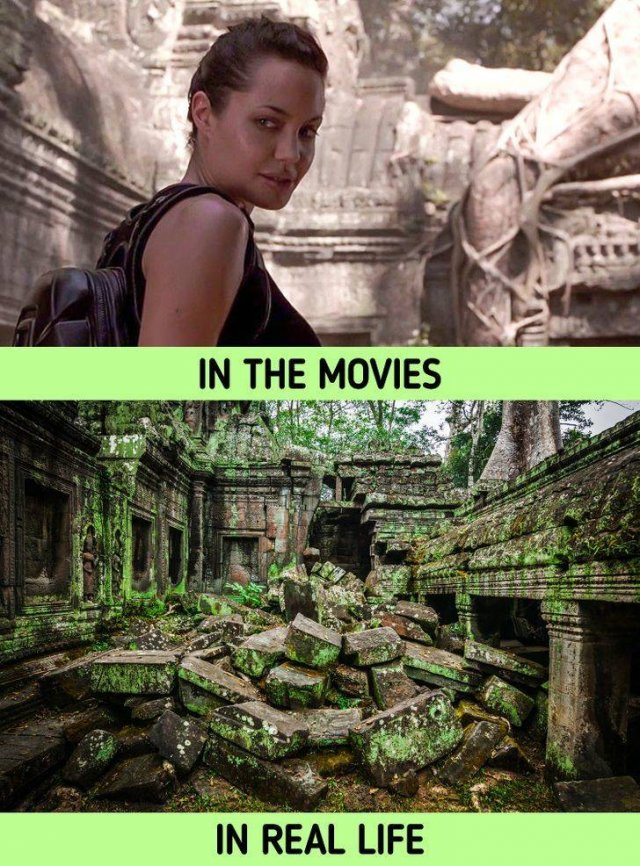 Things In Movies And In Real Life