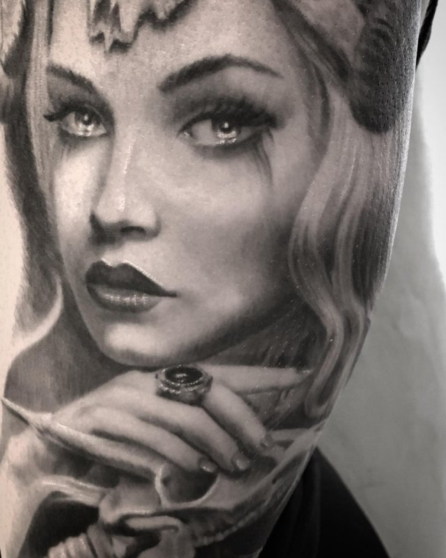 Hyper-Realistic Tattoos, part 4