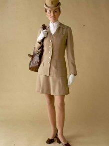 70's Flight Attendant Uniforms