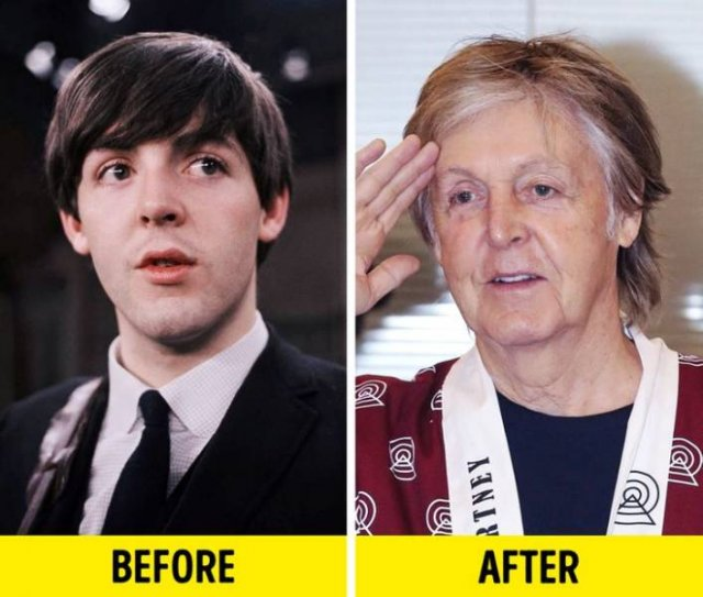 Celebrities: Then And Now, part 17