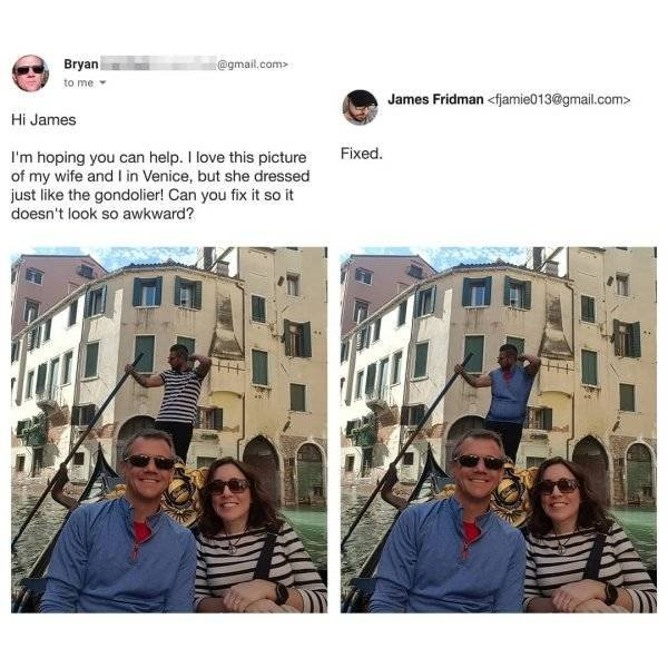 James Fridman Can Photoshop Any Of Your Pictures