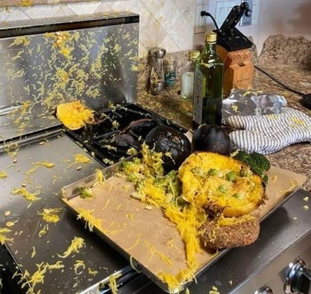 Cooking Fails, part 3