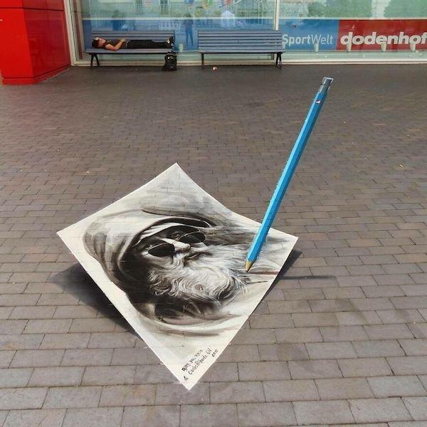 Beautiful 3D Street Art