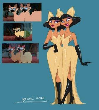 Disney Animal Characters Turned Into Human