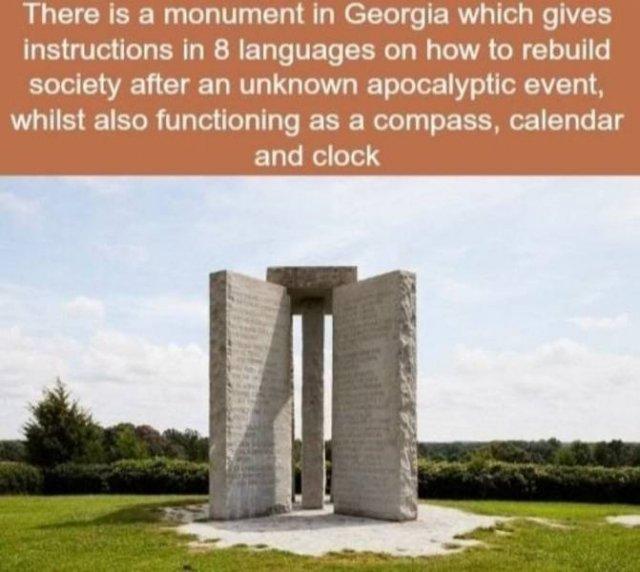 Interesting Facts Around The World, part 3